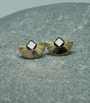 White Cuzco Earrings