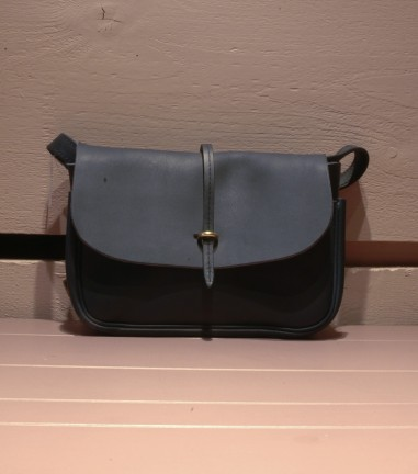 Blue mini Pastel bag
