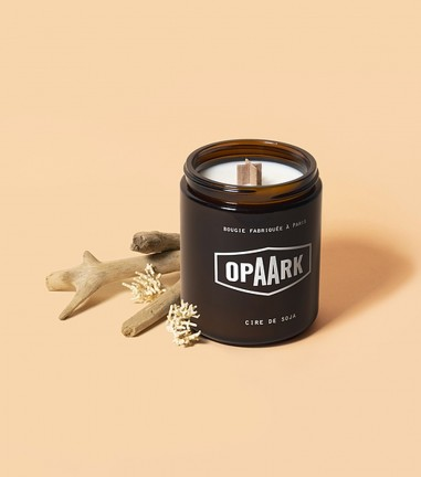 Big wood floots candle
