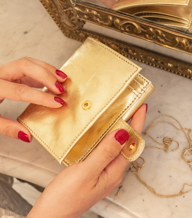 Little Gold wallet