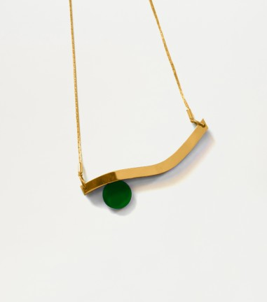 Green cise's necklace