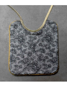 Mustard Flowers Large Bib