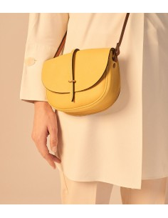 Yellow Postman bag Java
