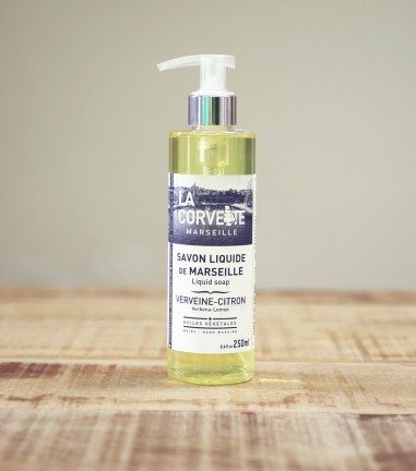 Liquid marseille soap verbena-lemon