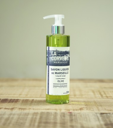 Liquid marseille soap olive