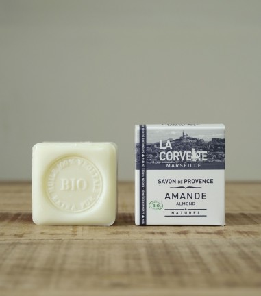 Natural and organic sweet almond soap